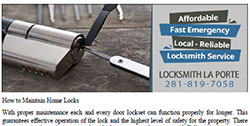 Maintain Home Locks in La Porte - Download